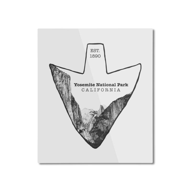 Yosemite National Park Arrowhead Home Mounted Aluminum Print by Of The Wild by Kimberly J Tilley