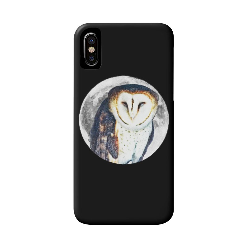 Tyto alba Accessories Phone Case by Of The Wild by Kimberly J Tilley