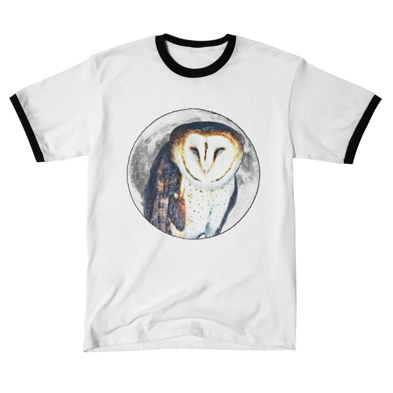 Tyto alba Women's T-Shirt by Of The Wild by Kimberly J Tilley