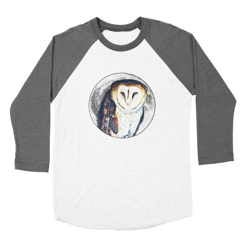 Tyto alba Women's Longsleeve T-Shirt by Of The Wild by Kimberly J Tilley