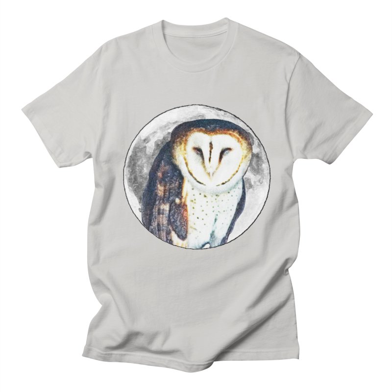 Tyto alba Women's Unisex T-Shirt by Of The Wild by Kimberly J Tilley