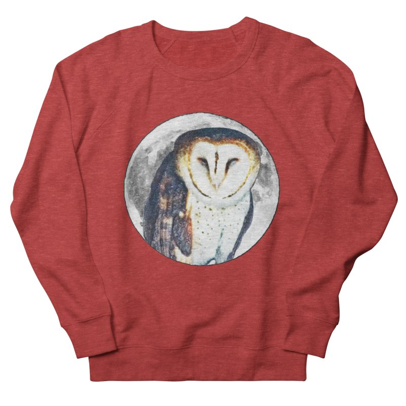 Tyto alba Women's Sweatshirt by Of The Wild by Kimberly J Tilley