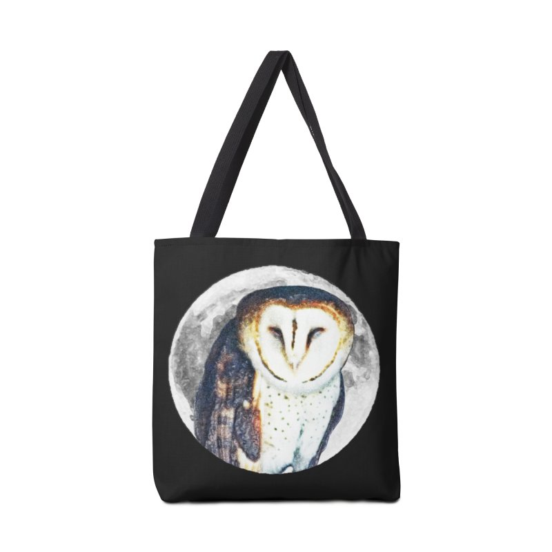 Tyto alba Accessories Bag by Of The Wild by Kimberly J Tilley