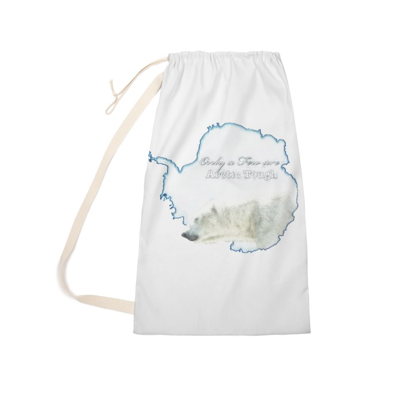 Arctic Tough Accessories Laundry Bag Bag by Of The Wild by Kimberly J Tilley