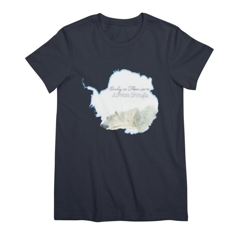 Arctic Tough Women's T-Shirt by Of The Wild by Kimberly J Tilley