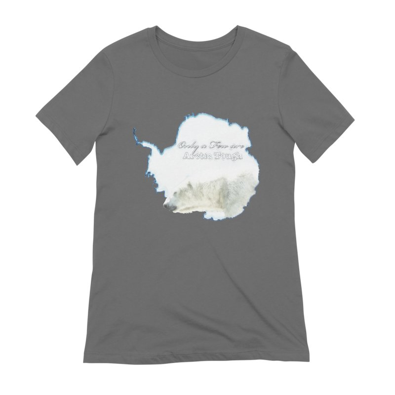 Arctic Tough Women's Extra Soft T-Shirt by Of The Wild by Kimberly J Tilley