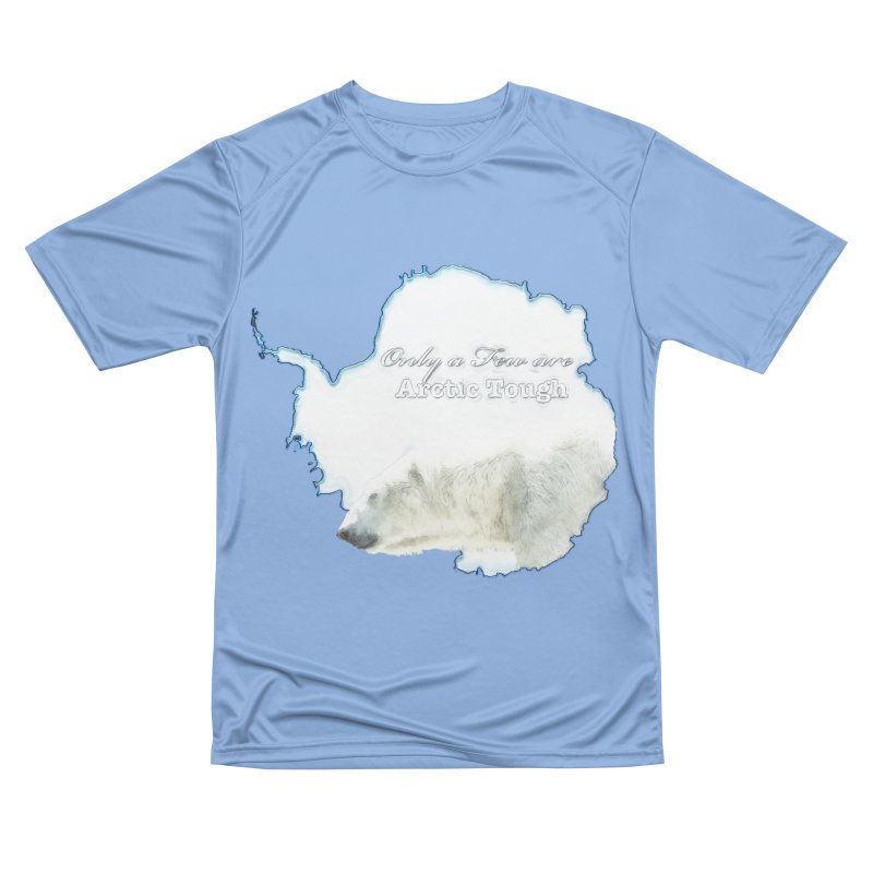 Arctic Tough Men's Performance T-Shirt by Of The Wild by Kimberly J Tilley