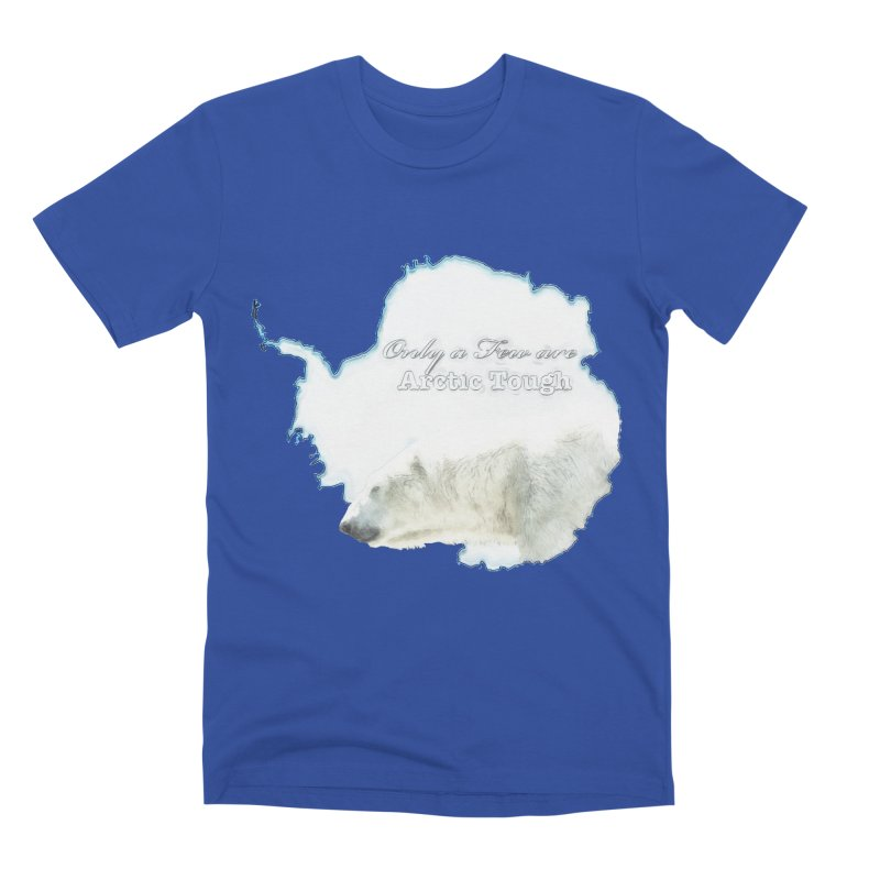 Arctic Tough Men's Premium T-Shirt by Of The Wild by Kimberly J Tilley