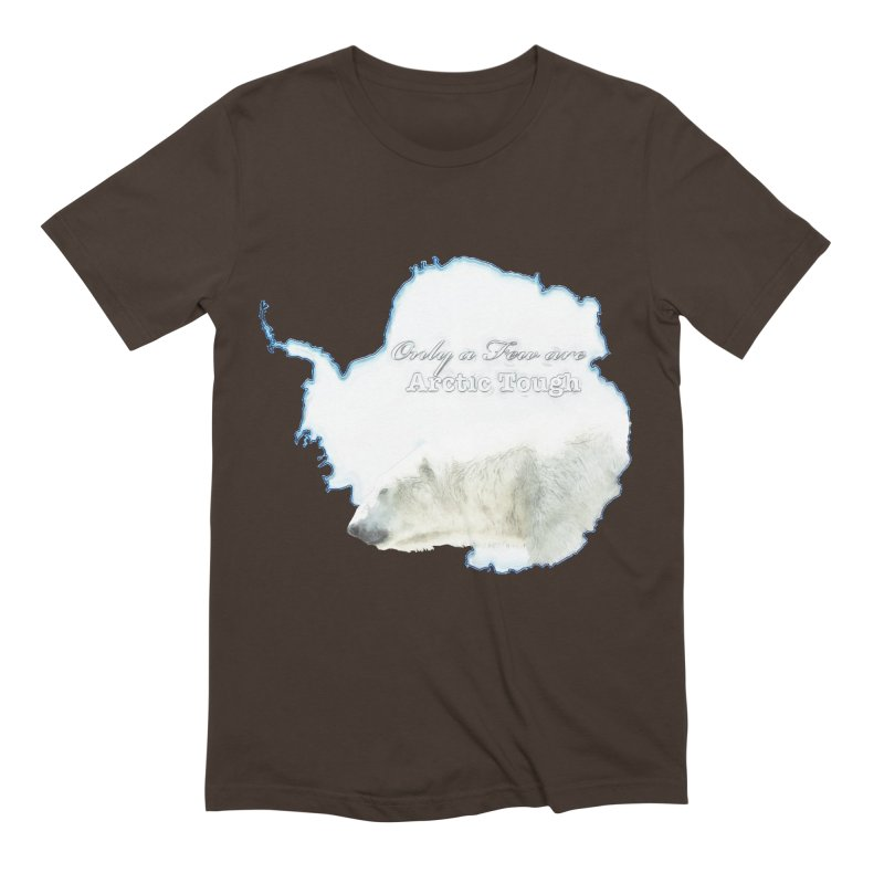 Arctic Tough Men's Extra Soft T-Shirt by Of The Wild by Kimberly J Tilley