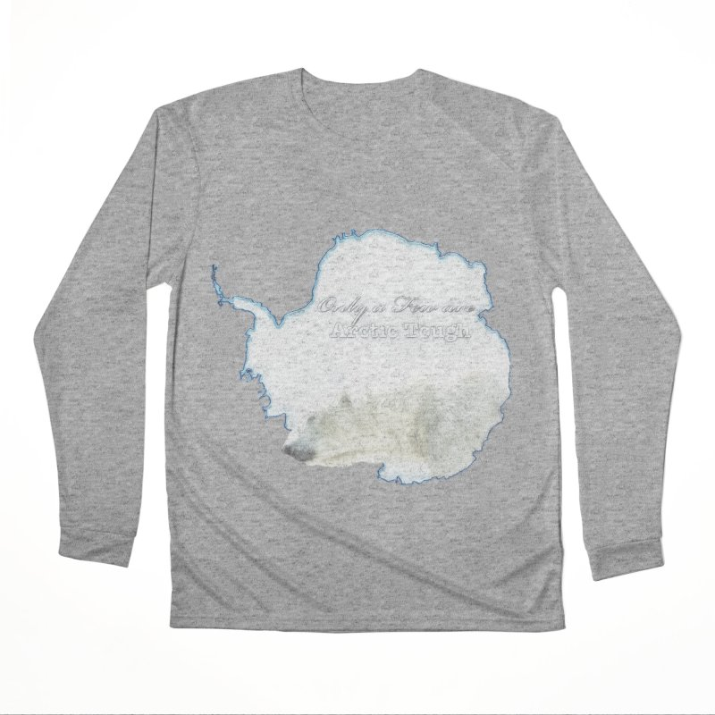 Arctic Tough Men's Performance Longsleeve T-Shirt by Of The Wild by Kimberly J Tilley