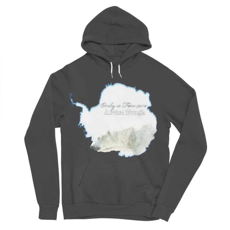 Arctic Tough Men's Sponge Fleece Pullover Hoody by Of The Wild by Kimberly J Tilley