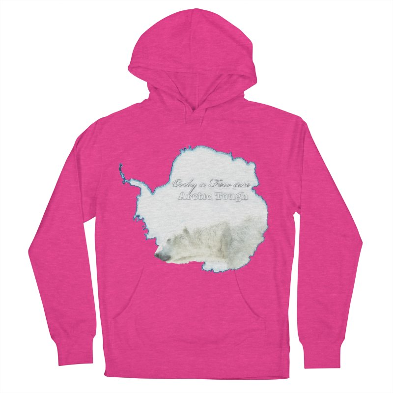 Arctic Tough Women's French Terry Pullover Hoody by Of The Wild by Kimberly J Tilley