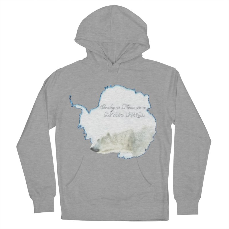 Arctic Tough Men's French Terry Pullover Hoody by Of The Wild by Kimberly J Tilley