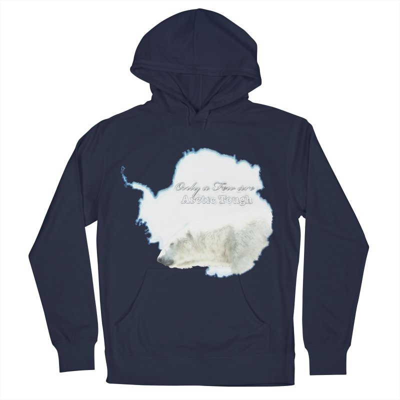 Arctic Tough Men's Pullover Hoody by Of The Wild by Kimberly J Tilley
