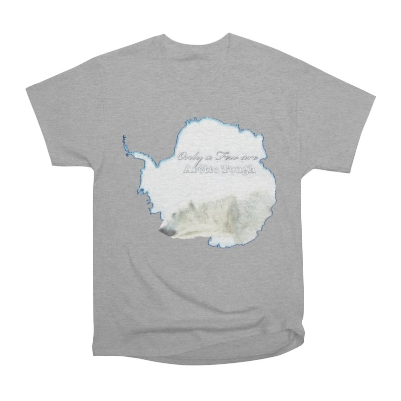Arctic Tough Men's Heavyweight T-Shirt by Of The Wild by Kimberly J Tilley