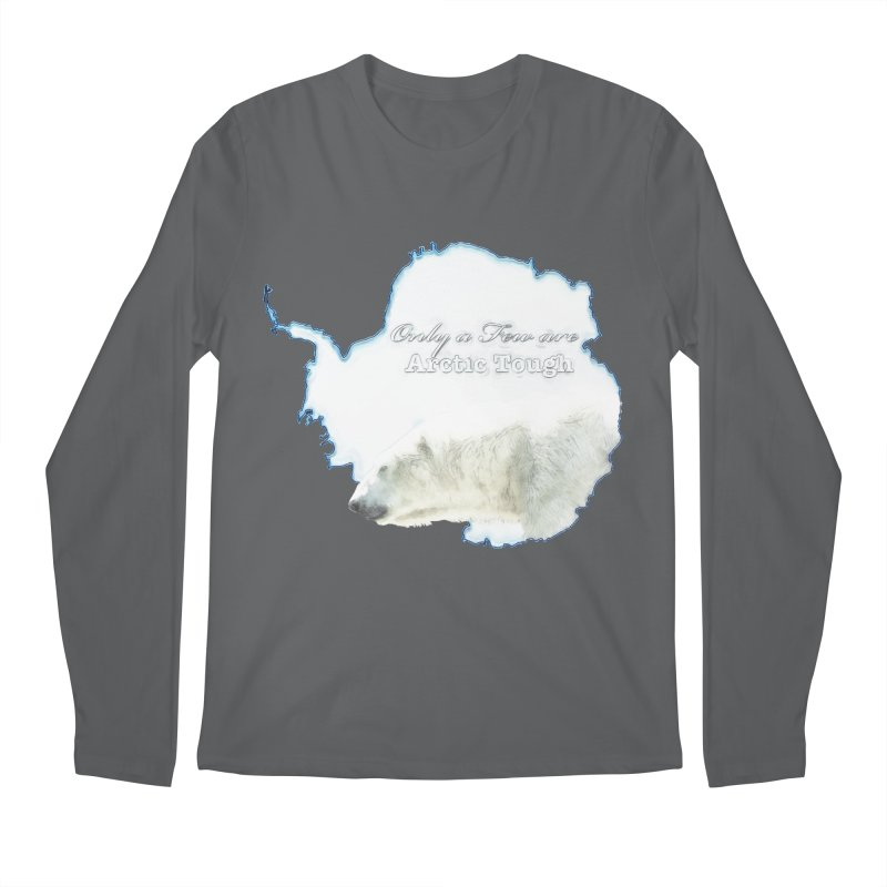 Arctic Tough Men's Regular Longsleeve T-Shirt by Of The Wild by Kimberly J Tilley
