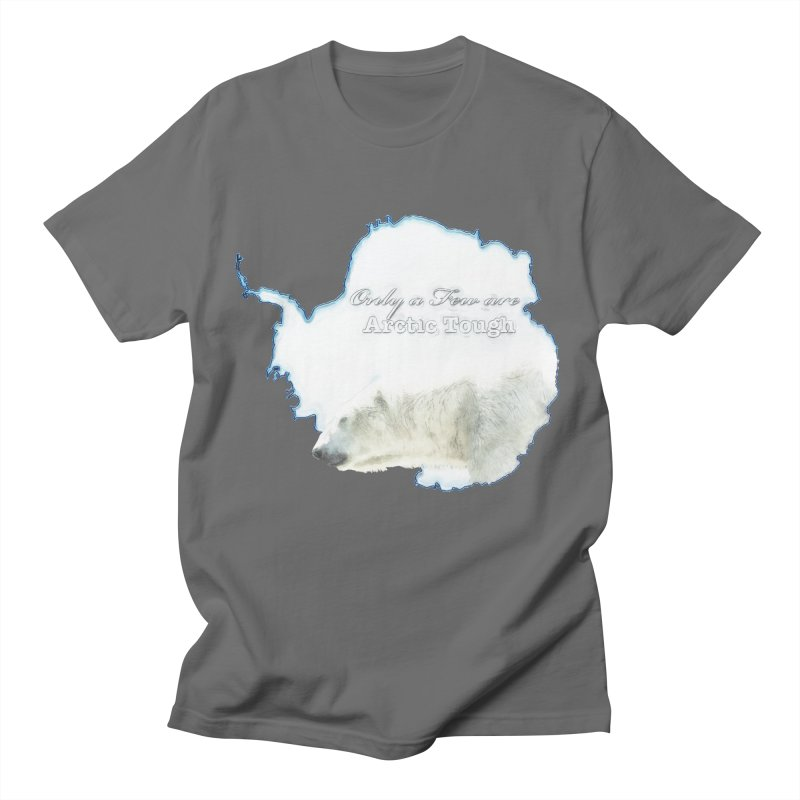 Arctic Tough Men's T-Shirt by Of The Wild by Kimberly J Tilley