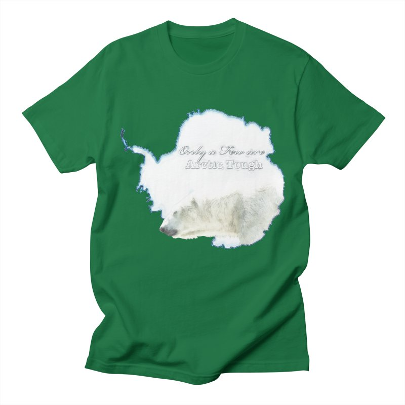 Arctic Tough Men's Regular T-Shirt by Of The Wild by Kimberly J Tilley