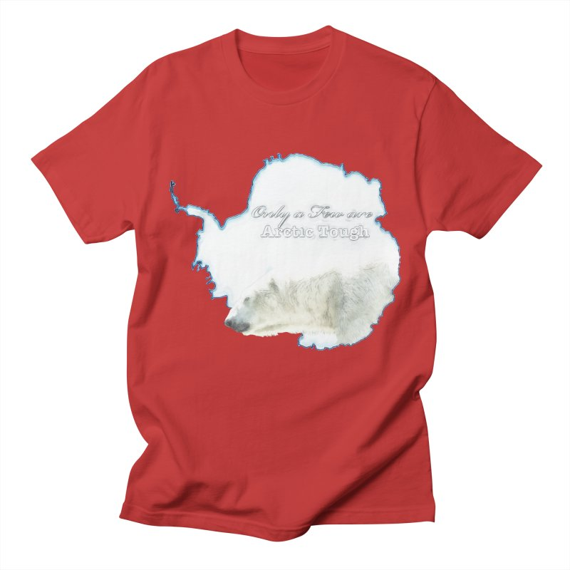 Arctic Tough Women's Regular Unisex T-Shirt by Of The Wild by Kimberly J Tilley