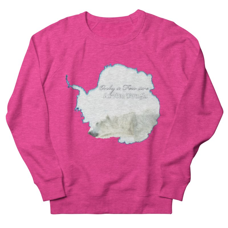 Arctic Tough Men's French Terry Sweatshirt by Of The Wild by Kimberly J Tilley