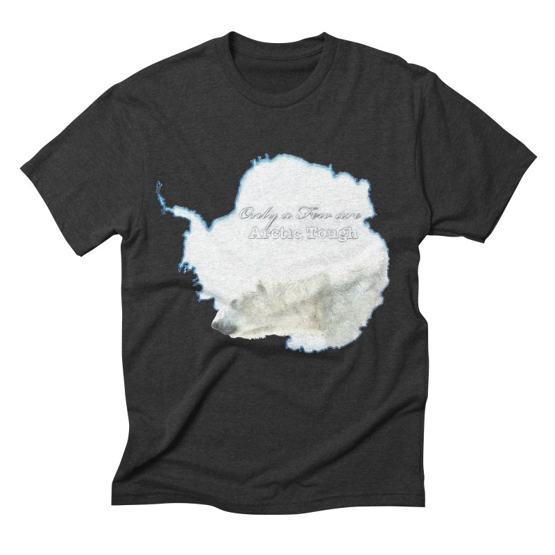 Arctic Tough Men's Triblend T-Shirt by Of The Wild by Kimberly J Tilley