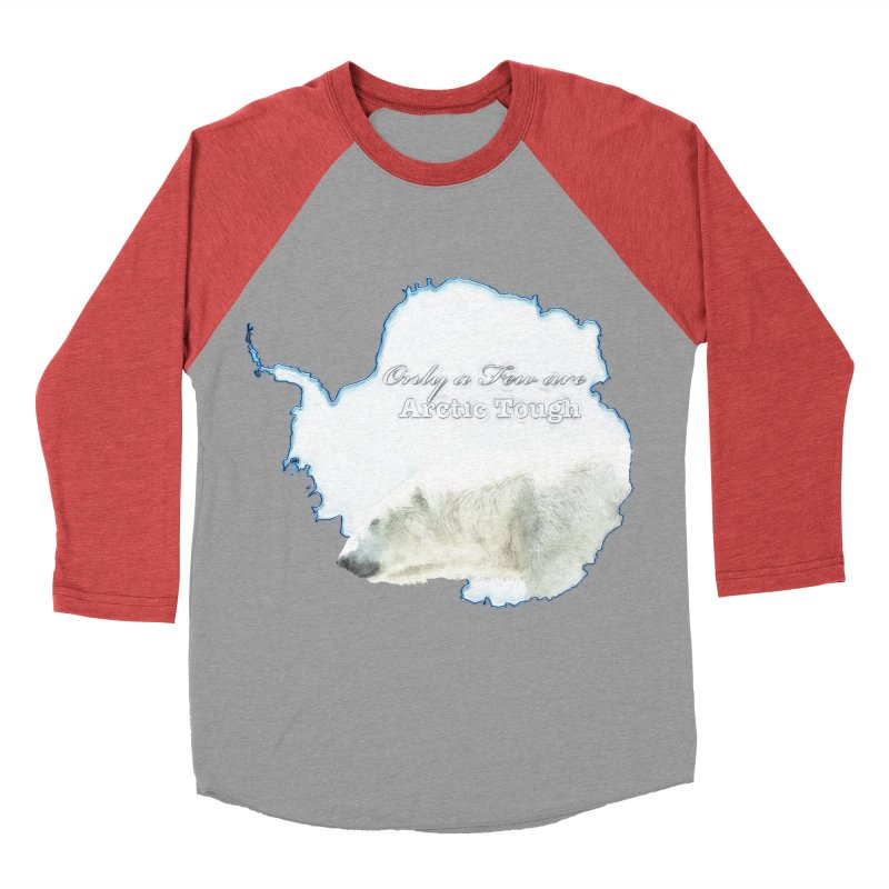 Arctic Tough Women's Baseball Triblend Longsleeve T-Shirt by Of The Wild by Kimberly J Tilley