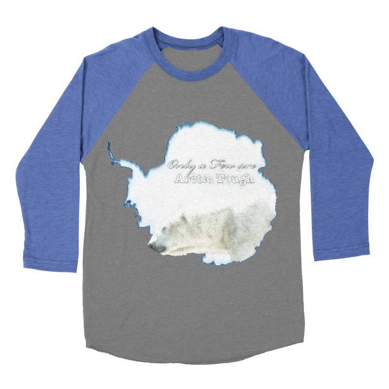 Arctic Tough Men's Baseball Triblend Longsleeve T-Shirt by Of The Wild by Kimberly J Tilley