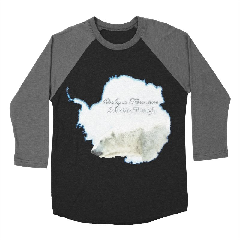 Arctic Tough Men's Baseball Triblend T-Shirt by Of The Wild by Kimberly J Tilley