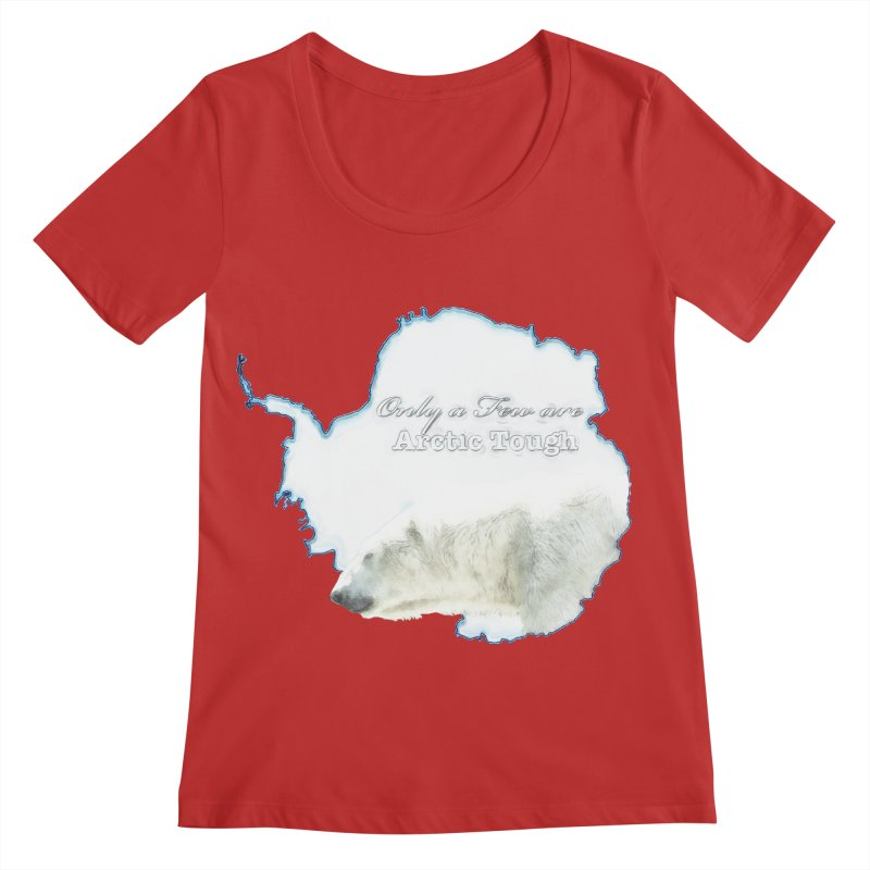 Arctic Tough Women's Regular Scoop Neck by Of The Wild by Kimberly J Tilley