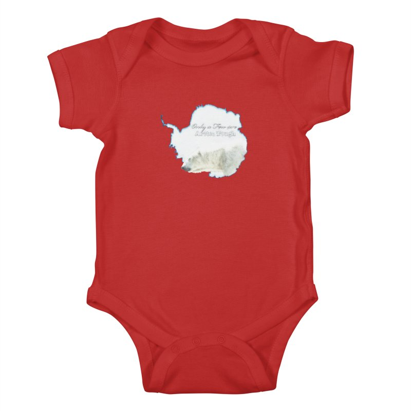 Arctic Tough Kids Baby Bodysuit by Of The Wild by Kimberly J Tilley