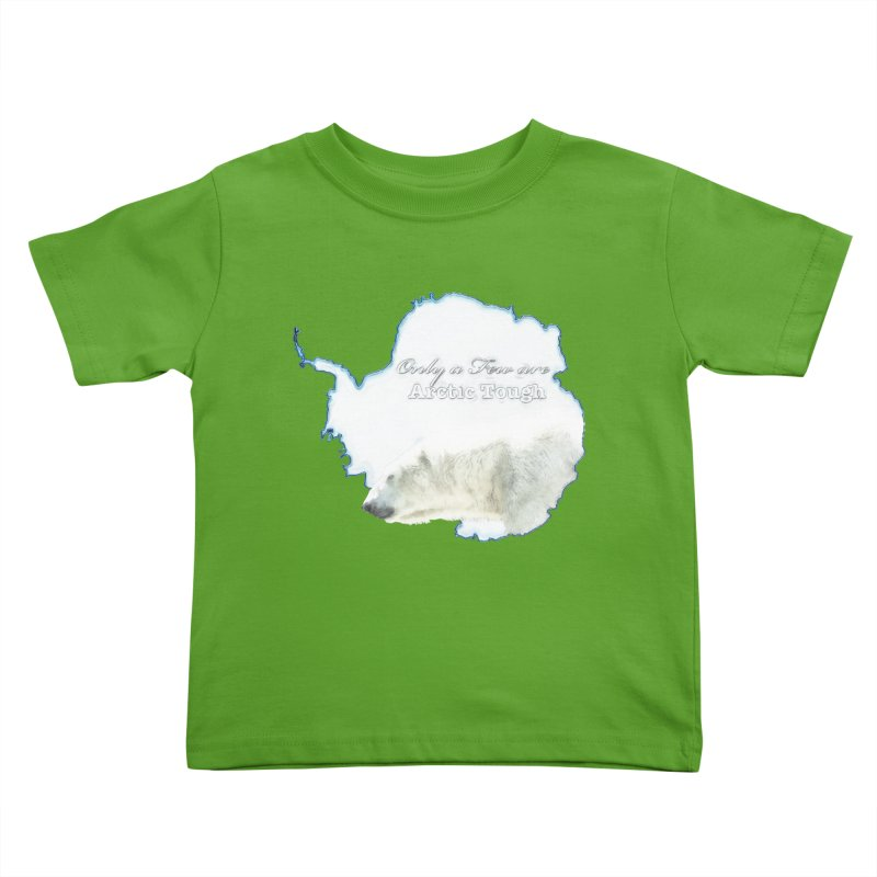 Arctic Tough Kids Toddler T-Shirt by Of The Wild by Kimberly J Tilley