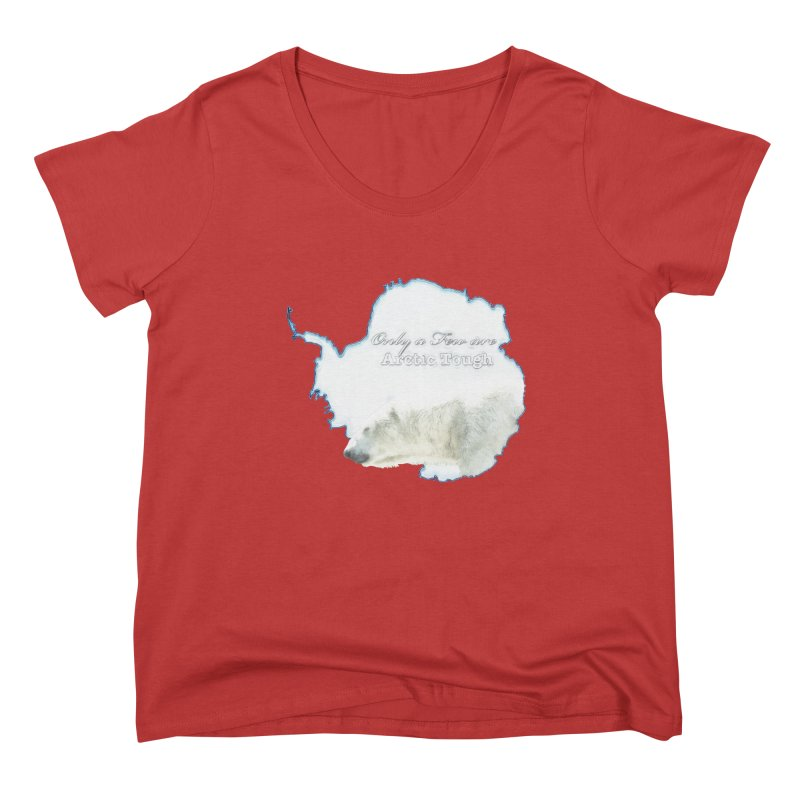 Arctic Tough Women's Scoop Neck by Of The Wild by Kimberly J Tilley