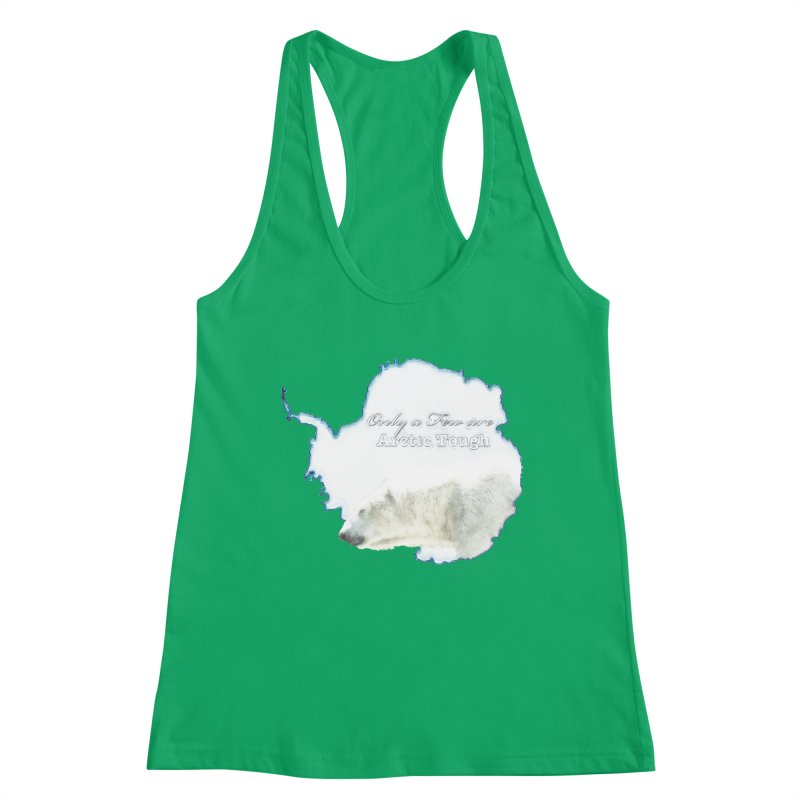 Arctic Tough Women's Tank by Of The Wild by Kimberly J Tilley