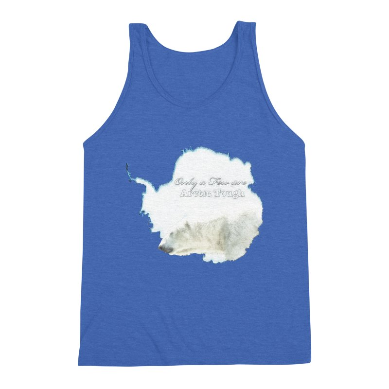Arctic Tough Men's Triblend Tank by Of The Wild by Kimberly J Tilley