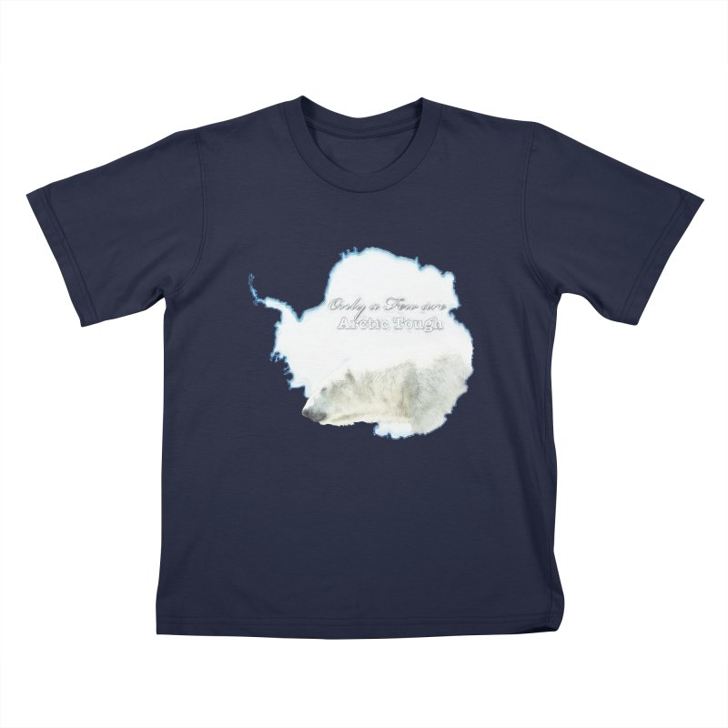 Arctic Tough Kids T-Shirt by Of The Wild by Kimberly J Tilley