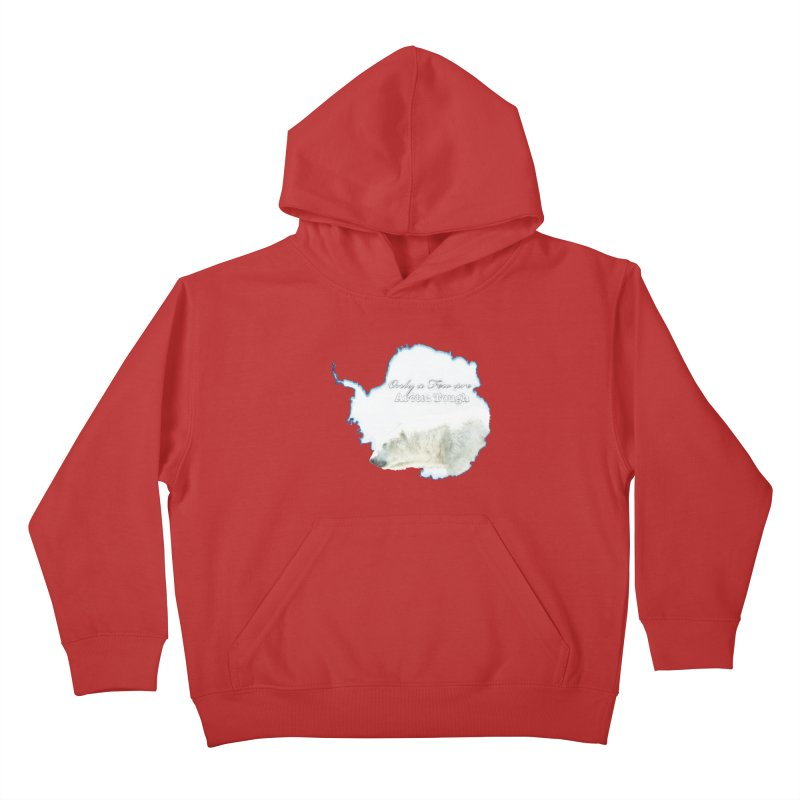 Arctic Tough Kids Pullover Hoody by Of The Wild by Kimberly J Tilley