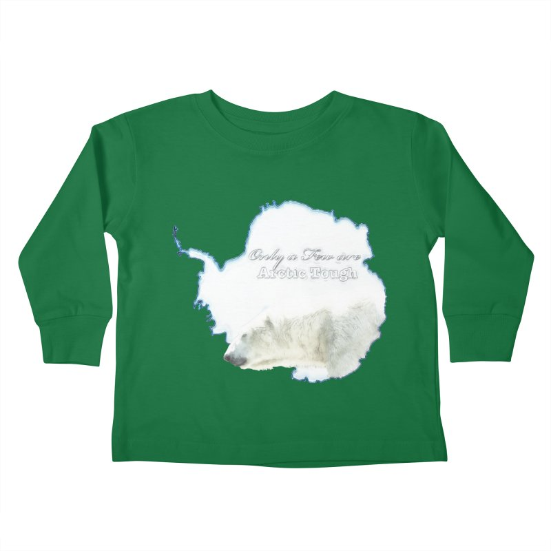 Arctic Tough Kids Toddler Longsleeve T-Shirt by Of The Wild by Kimberly J Tilley