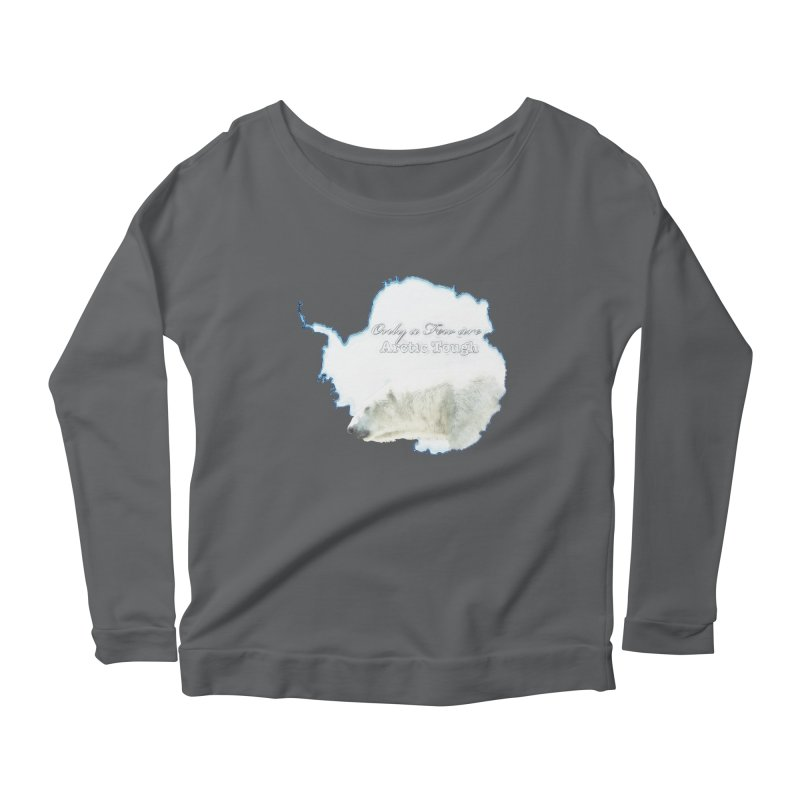 Arctic Tough Women's Scoop Neck Longsleeve T-Shirt by Of The Wild by Kimberly J Tilley
