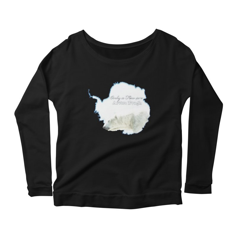 Arctic Tough Women's Longsleeve Scoopneck  by Of The Wild by Kimberly J Tilley