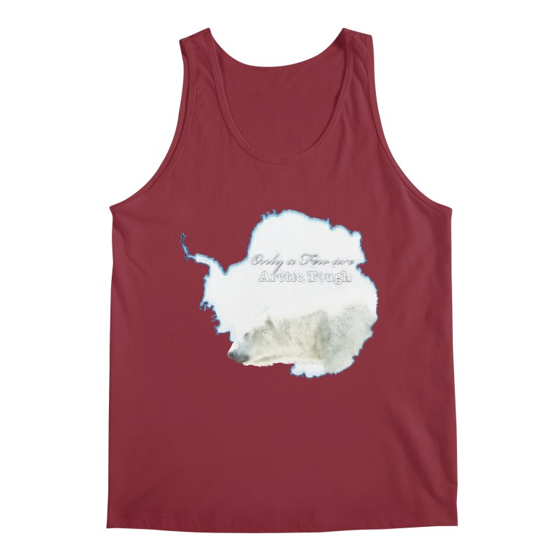 Arctic Tough Men's Regular Tank by Of The Wild by Kimberly J Tilley