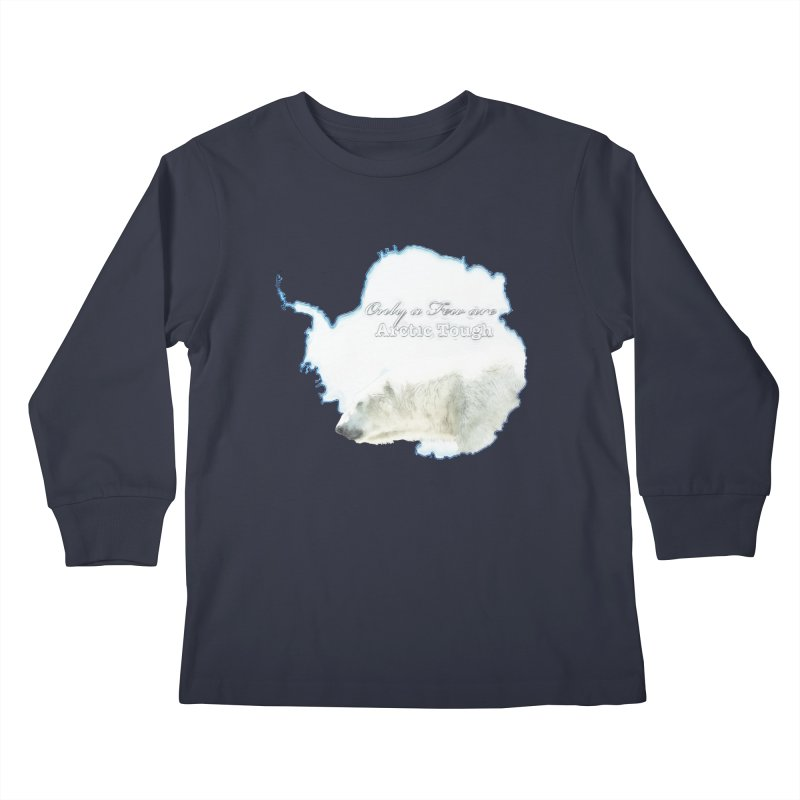 Arctic Tough Kids Longsleeve T-Shirt by Of The Wild by Kimberly J Tilley