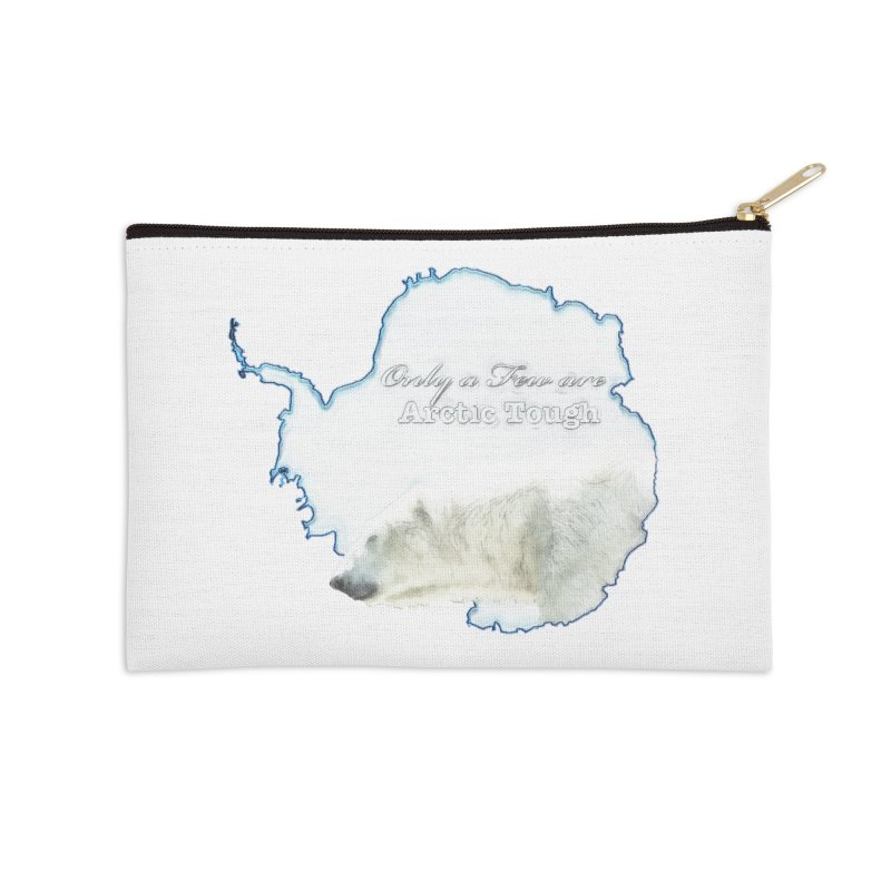 Arctic Tough Accessories Zip Pouch by Of The Wild by Kimberly J Tilley