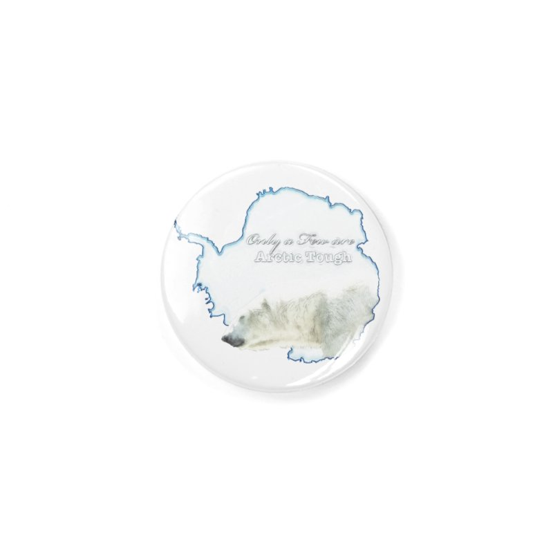 Arctic Tough Accessories Button by Of The Wild by Kimberly J Tilley