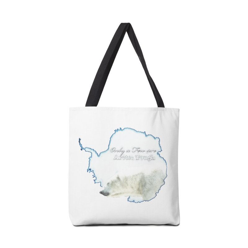 Arctic Tough Accessories Tote Bag Bag by Of The Wild by Kimberly J Tilley