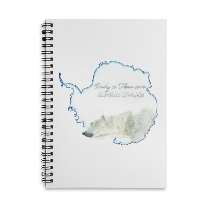 Arctic Tough Accessories Notebook by Of The Wild by Kimberly J Tilley