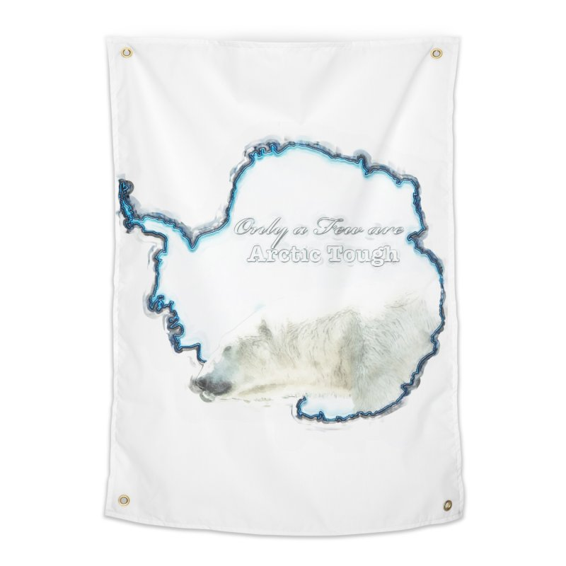 Arctic Tough Home Tapestry by Of The Wild by Kimberly J Tilley