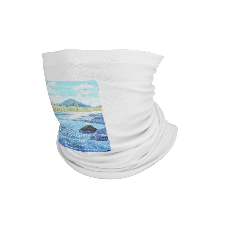 Take the Journey Accessories Neck Gaiter by Of The Wild by Kimberly J Tilley