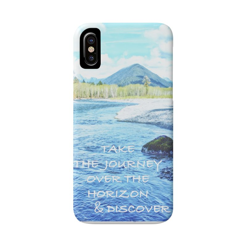 Take the Journey Accessories Phone Case by Of The Wild by Kimberly J Tilley