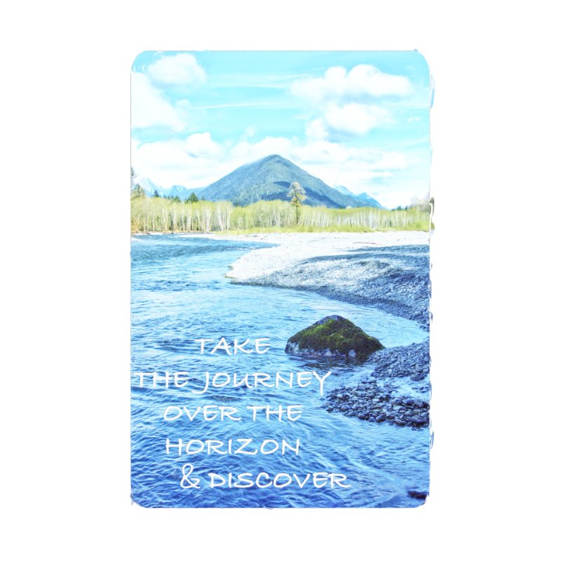 Take the Journey Accessories Sticker by Of The Wild by Kimberly J Tilley