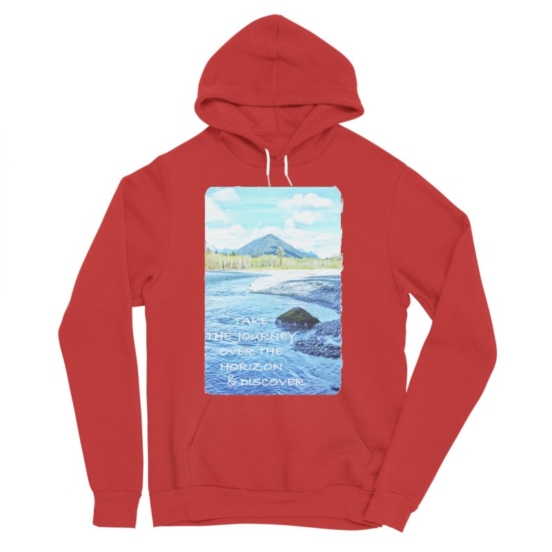 Take the Journey Women's Pullover Hoody by Of The Wild by Kimberly J Tilley